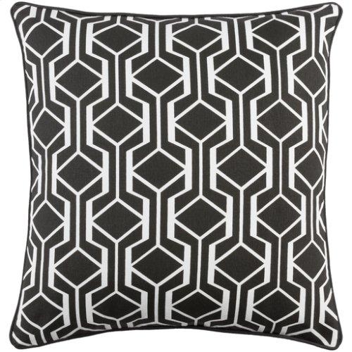 "Inga INGA-7034 18"" x 18"" Pillow Shell with Polyester Insert"