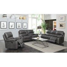 Ravenna Casual Charcoal Motion Sofa