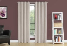 "CURTAIN PANEL - 2PCS / 52""W X 95""H IVORY ROOM DARKENING"
