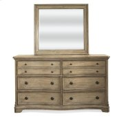 Corinne Six Drawer Dresser Sun-drenched Acacia finish Product Image