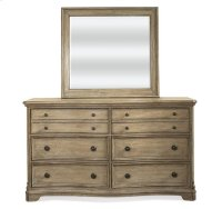 Corinne Landscape Mirror Sun-drenched Acacia finish Product Image