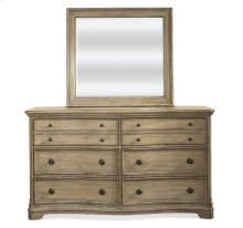 Corinne Six Drawer Dresser Sun-drenched Acacia finish