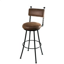 Forest Hill Iron Round Stool