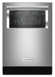 44 dBA Dishwasher with Window and Lighted Interior - Stainless Steel [OPEN BOX]