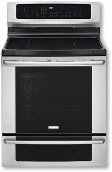 "30"" IQ Series Induction Freestanding Range Stainless Steel"