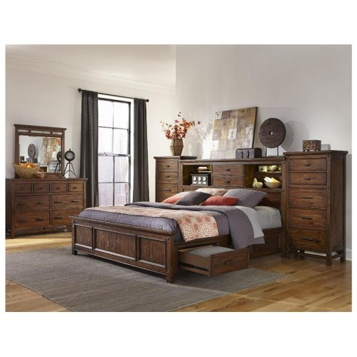 Intercon Bedroom Ck 3 Drawer Storage Rail - 1 PC