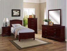 Louis Philip 5-d Chest Cherry