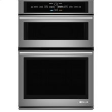"""Jenn-Air® 30"""" Microwave/Wall Oven with V2™ Vertical Dual-Fan Convection System, Euro-Style Stainless"""