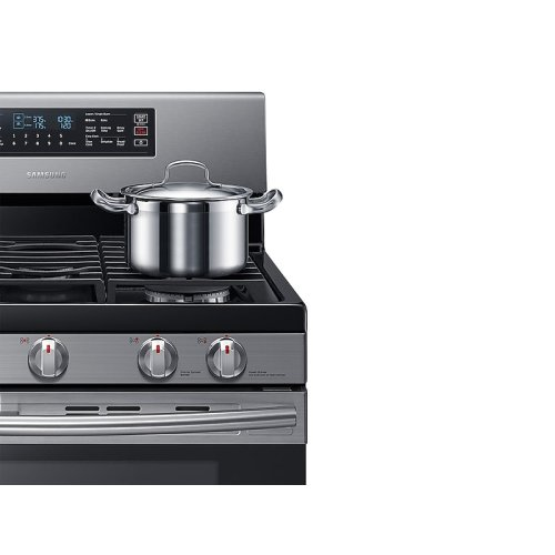 5.8 cu. ft. Freestanding Gas Range with 16K and 15K BTU Power Burners