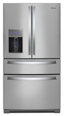 36-inch Wide 4-Door Refrigerator with Exterior Drawer - 26 cu. ft. (Scratch & Dent)