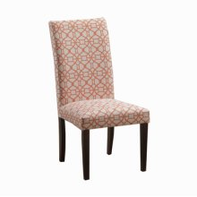 Orange Parson Chair