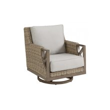 Summer Creek Outdoor Swivel Rocker Club Chair