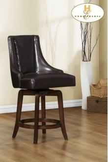 Pub Height Chair, Brown
