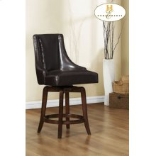 Pub Height Chair, Brown