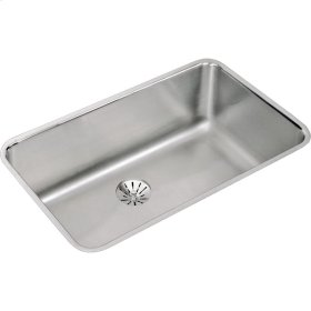 "Elkay Lustertone Classic Stainless Steel 30-1/2"" x 18-1/2"" x 10"", Single Bowl Undermount Sink with Perfect Drain"