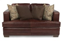 Fulbright Leather Loveseat