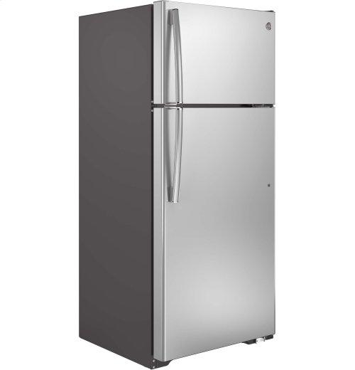 FACTORY BLEMISH UNIT - GE® ENERGY STAR® 17.5 Cu. Ft. Top-Freezer Refrigerator