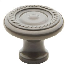 Antique Nickel Rope Knob