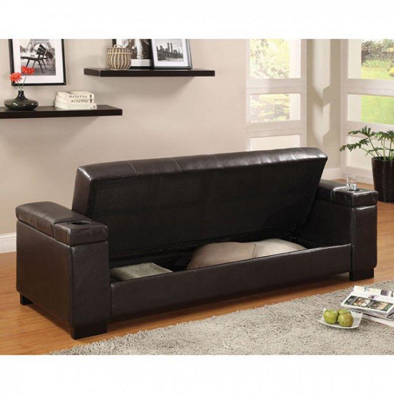 Hidden Additional Logan Futon Sofa
