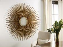Oval Florentine Mirror, Gold Leaf