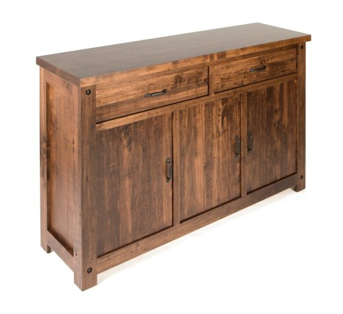 Sideboard with Wood Doors & Sides