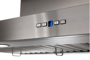 "Gorgona - 48"" x 27"" Stainless Steel Island Range Hood with a choice of iQ12, External or In-line blowers"