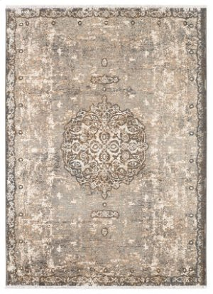 Floret by Patina Vie Ivory Rectangle 3ft 6in X 5ft 6in