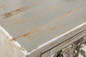 Malbec Console Table - Rubbed Gray