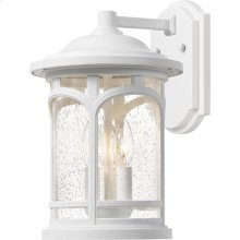 Marblehead Outdoor Lantern in White Lustre