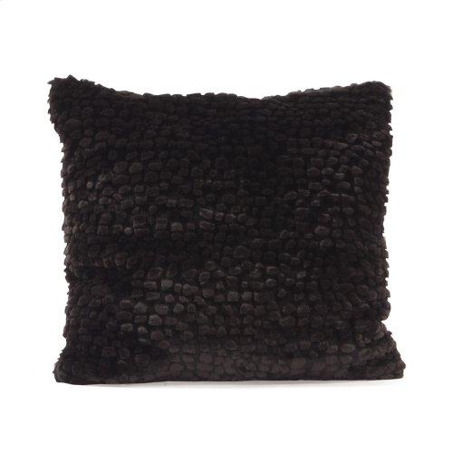 """Pillow 16""""x16"""" Sable Ebony"""