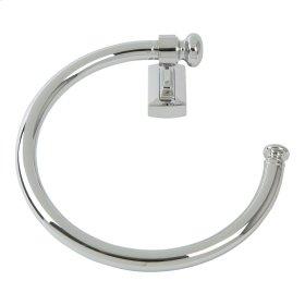 Legacy Bath Towel Ring - Polished Chrome