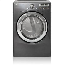 Electric Dryer with 9 Drying Programs (Gray)