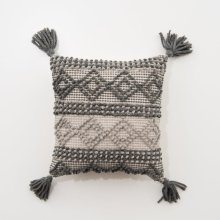 Charcoal Joslin Pillow - Charcoal