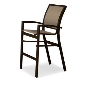 Kendall Sling Bar Height Stacking Cafe Chair