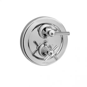 Sea Island - Thermostatic Control Valve Trim - Brushed Nickel
