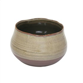 "Ceramic 6.75"" Planter, Sage Green"