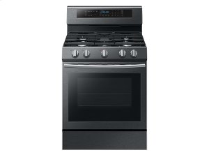 5.8 cu. ft. Freestanding Gas Range with True Convection in Black Stainless Steel Product Image