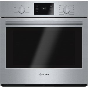 "Bosch500 Series, 30"", Single Wall Oven, SS, Thermal, Knob Control"