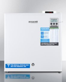 Compact -20 C All-freezer With Digital Thermostat, Lock, Alarm With Temperature Display, and Hospital Grade Cord