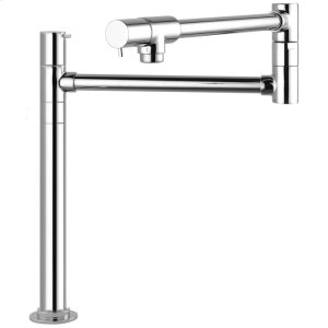 Chrome Pot Filler, Deck-Mounted Product Image