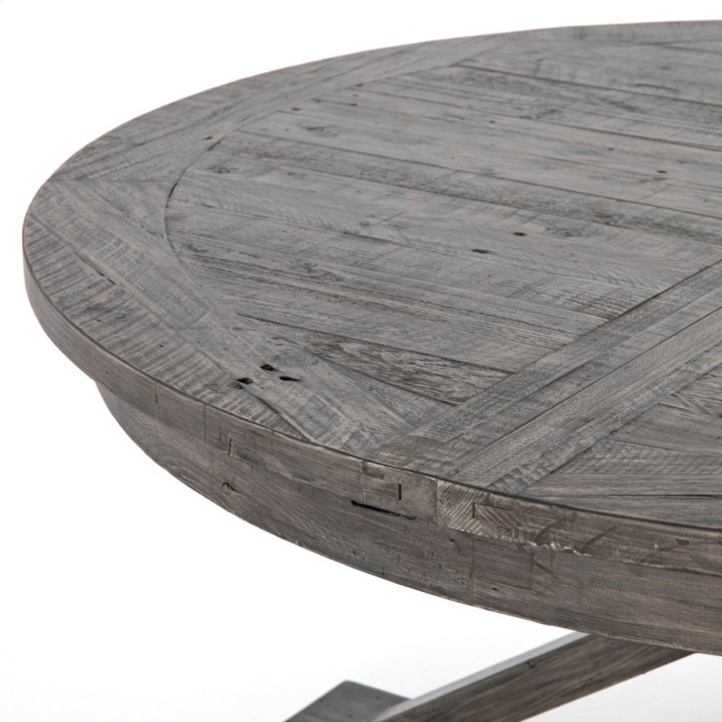 63 Size Black Olive Finish Cintra Extension Dining Table