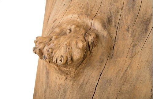Burled Wood Dining Table Base