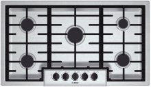 "36"" Gas Cooktop 500 Series - Stainless Steel"