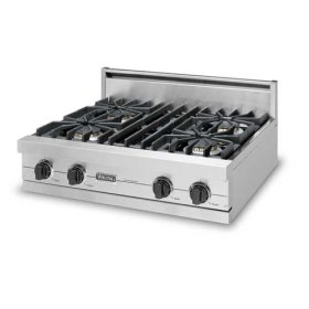 "30"" Sealed Burner Rangetop - VGRT (30"" wide rangetop; four burners)"