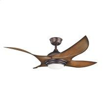 "Shuriken Collection Shuriken 52"" Ceiling Fan - Oil Brushed Bronze OBB"