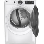 GE ®7.8 Cu. Ft. Capacity Smart Front Load Gas Dryer With Steam