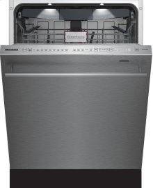 "24"" Tall Tub dishwasher 8 cycles top control 3rd rack stainless 45dBA"