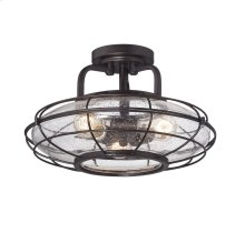 Connell 3 Light Semi-Flush