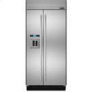 42-Inch Built-In Side-by-Side Refrigerator with Water Dispenser Product Image
