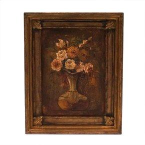 Andrea's Flowered Vase Frame Art
